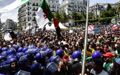 Algerie manif police