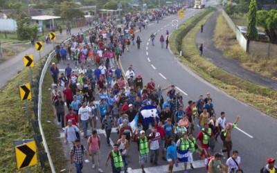 Caravane migrants