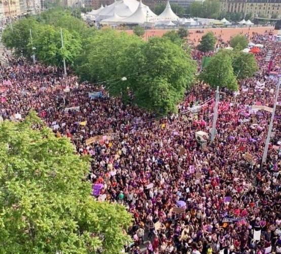 Grève des femmes 14 juin
