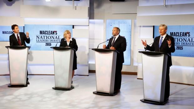 canada election debate 2015