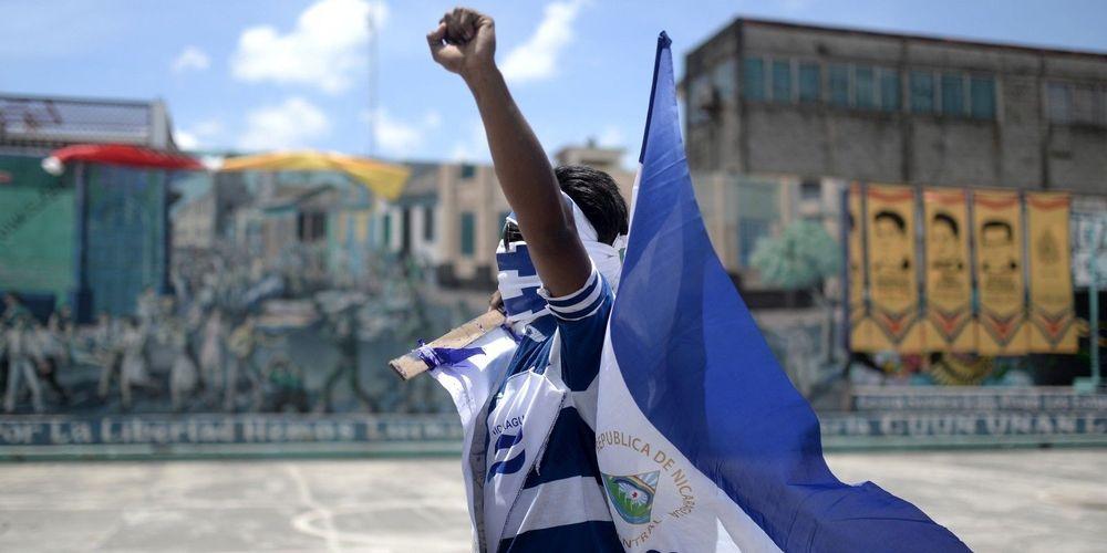 depuis quatre mois le nicaragua est en proie a une grave crise politique et social le peuple demande le depart du president ortega